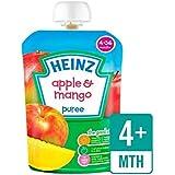 Heinz Lisse Pomme Et De Mangue 4-36 Mths 100G - Paquet de 6