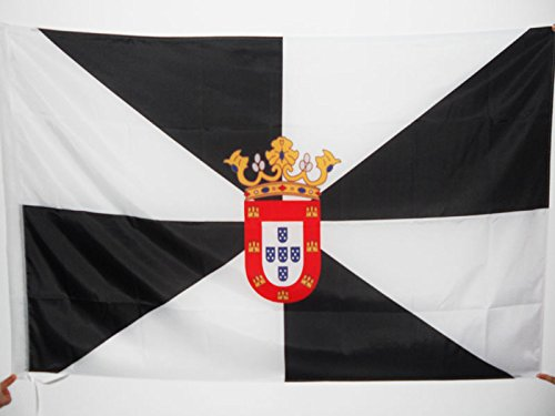 AZ FLAG Bandera de Ceuta 90x60cm para Palo - Bandera ESPAÑOLA - ESPAÑA 60 x 90 cm