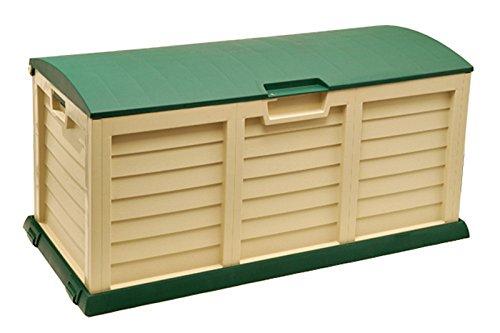 Sitztruhe Truhe Aufbewahrungsbox Harz Kunststoff Gartenbank Innen Außen