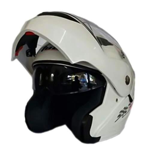 OLEEKA Flip Up Casco motocicleta Casco moto modular
