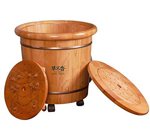 roble-bano-de-pies-con-calor-spa-inicio-cuenca-madera-equipos-de-fumigacion-la-fumigacion-barril-de-