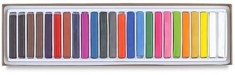 Danlmur grands Ensembles de crayons de couleur triangulaires, coloris assortis, Box of 24