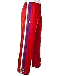 JLBrazil - Pantalons Elastique Abadas Rouge de Capoeira Brésilienne Arts Martiaux - Enfants Adolescents 6 - 14 Ans