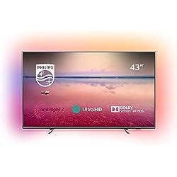 Philips 43PUS6754 - Téléviseur LED 4K UHD 43' (109 cm) 16/9 - 3840 x 2160 pixels - Ultra HD 2160p
