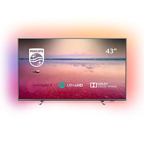 Philips 43PUS6754 - Téléviseur LED 4K UHD 43' (109 cm)...