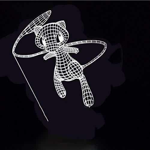 Led 3D Lumineux Animaux Forme De Rêve Led Veilleuses Incroyable Effet Créatif Luminaire Dessin Animé Jeu De Bureau Lampe Lampe Décor À La Maison Cadeaux