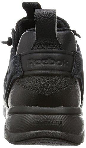 Reebok Furylite - Sneakers basses homme Black (Black/Black/White)