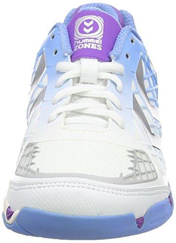 Hummel Hummel Celestial X8 Fshield Wo, Chaussures indoor femme Blanc - Blanc pâle