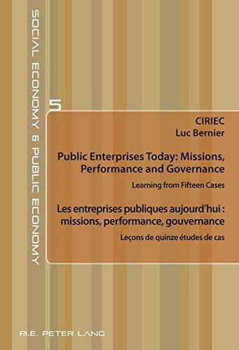 Les entreprises publiques aujourd'hui : missio...