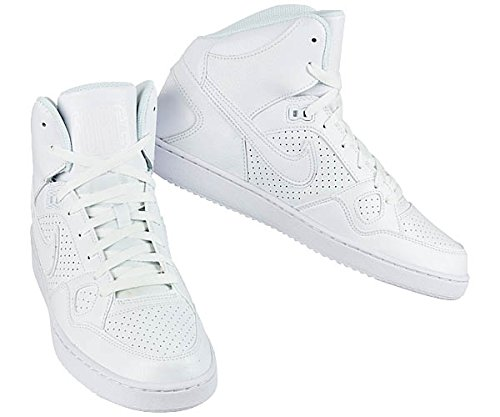 NIKE son of force mid hommes Chaussures de plusieurs couleurs White - Weiß (Weiß-Weiß)