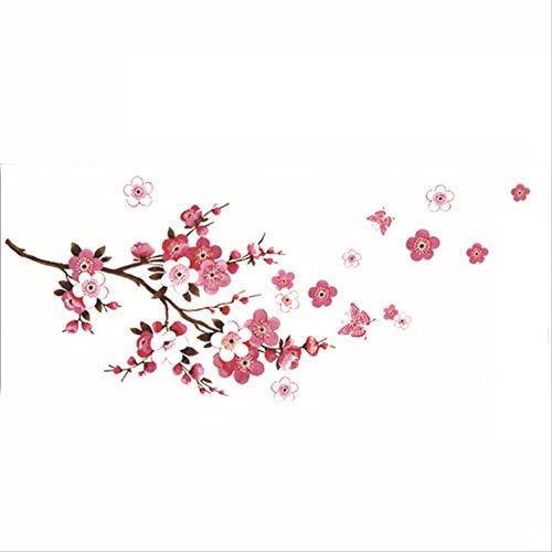 Zweige Wandaufkleber Wohnzimmer Schlafzimmer Hintergrund Dekorative Wand Kunst Applique Pflanze Aufkleber Hauptdekoration 45 * 60Cm ()