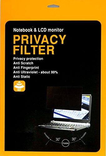MagicScreen Blickschutzfilter - Privacy Filter Blickschutzfolie 20,1 Zoll 442 x 249 mm für Monitore, Bildschirme, Laptops, Notebooks und PC mit Haltelaschen -