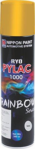 Nippon Paint Ryo Pylac 1000 Spray Paint (300 ml, RS-Gold)