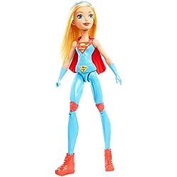 DC Super Hero Girls - Supergirl, muñecas Entrenamiento (Mattel DMM25)