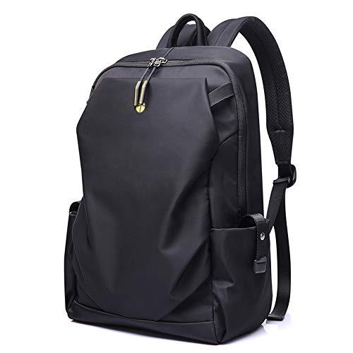 YZH Computer Rucksack Reiserucksack Männer Casual Outdoor Leichte Wasserdichte Verschleißfeste Aufhellung System Einfache Neue Korean Fashion Trend Schwarz - Aufhellung System