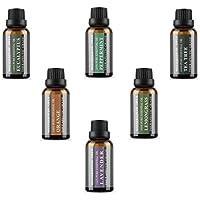 Die Top 6 Aromatherapie Öle - 100% reine ätherische Öle in einem Geschenkset 6 x 30 ml von WASSERSTEIN (Lavendel... preisvergleich bei billige-tabletten.eu