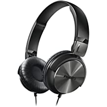 Philips Cuffia DJ, Impedenza da 32 Ohm, Diametro Altoparlante di 40 mm, Cavo da 1.2 (Stile Pieghevole Delle Cuffie)