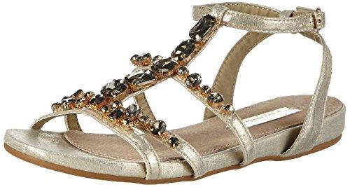 Xti 30068, Sandales Bride cheville femme Or - Gold (Oro)