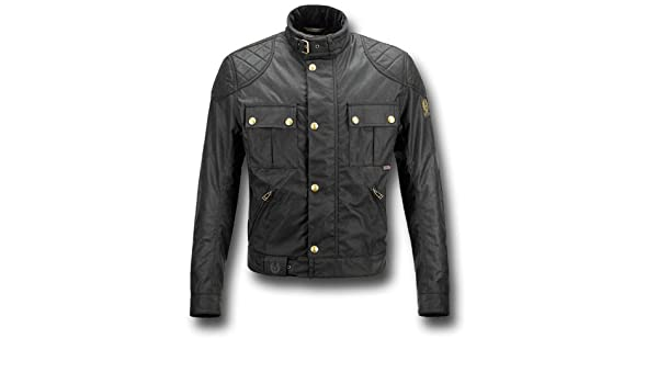 a15a8de343f Belstaff Brooklands Blouson Motorcycle Jacket, black (Small): Amazon.co.uk:  Clothing