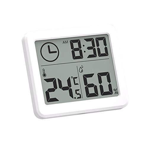 ONEVER Estación meteorológica Termómetro Interior Higrómetro Digital LCD C/F Temperatura Humedad...