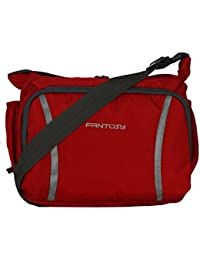 Fantosy men Red polyester slingbag (MB-003)