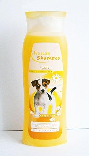 Bild: HUNDESHAMPOO 300ml Kamille Entfilzung Hunde Shampoo Fellpflege rückfettend 92