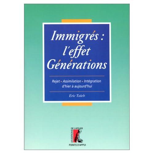 Immigrés : l'effet générations. Rejet, assimilation, intégration d'hier à aujourd'hui