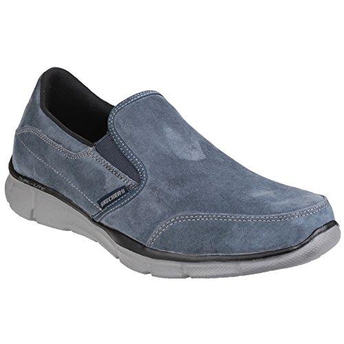 Skechers EqualizerMind Game, Sneaker Basse Uomo Blu navy