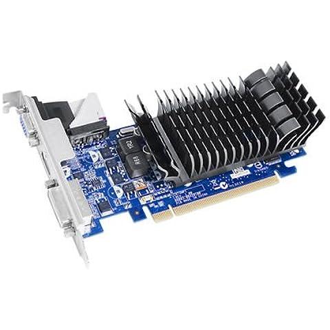 ASUS EN210 SILENT/DI/1GD3/V2(LP) - Tarjeta gráfica de 1 GB DDR3 (NVIDIA GeForce 210, PCI Express 2.0, 1200 MHz, HDMI)