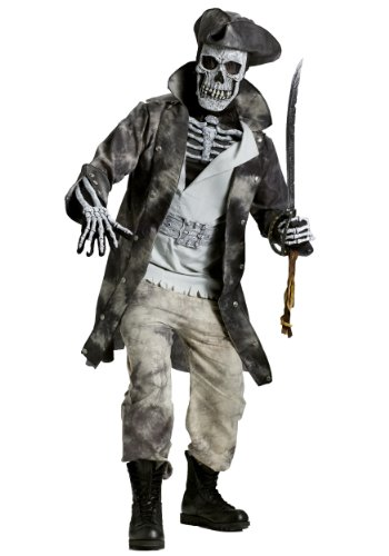 Ghost Pirate Fancy dress costume X-Large