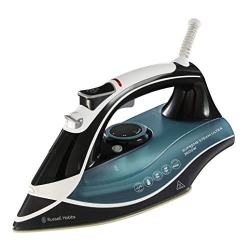 Russell Hobbs Supreme Steam Traditional Iron 23260, 2600 W – Teal/Black