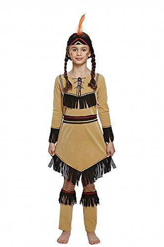 Kind American Indian Girl Kostüm Medium