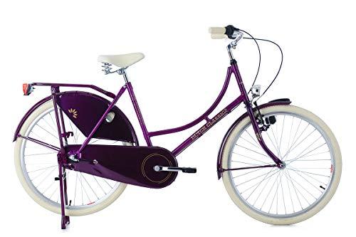 KS Cycling Vélo hollandais pour Femmes, Lila, 48...