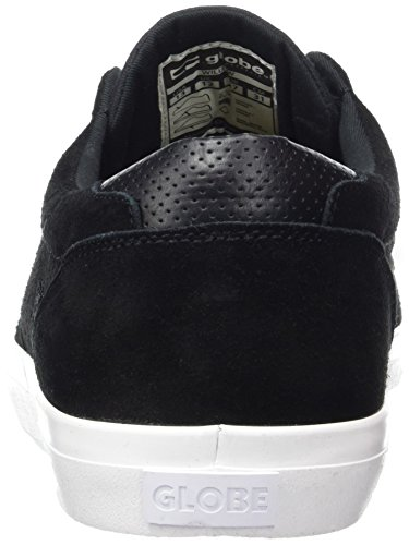 Globe Willow, Chaussures de Skateboard Homme Noir (Black/White)