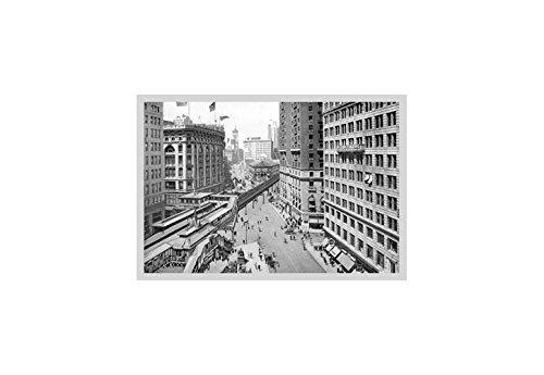 Blick Down Broadway Gegen Herald Square, 1911Kunstdruck (Leinwand Giclée-12x 18) von Buyenlarge