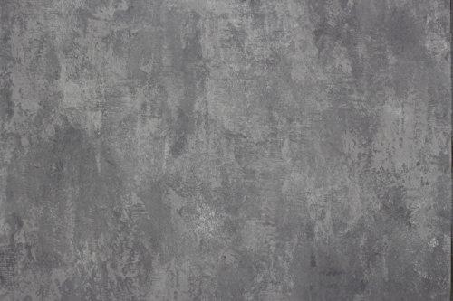 Euro Tische Vinyltapete in Beton Optik Rolle und Muster Betonoptik in Grau Steinwand