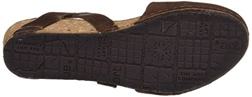 Braun total Damen 0739 Plateausandalen Pompei Brown Mojave Art XAPwqw