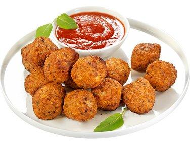 Boulettes de soja tomates basilic - 400 g -