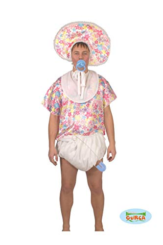 Adult Big Baby Costume with diaper, t-shirt, bib and hat. Medium or Large.