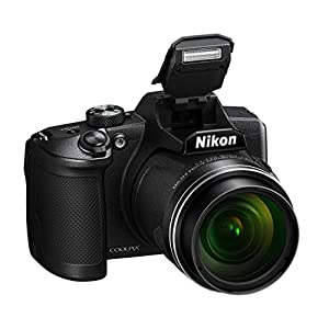 Nikon Coolpix B600 Appareil Photo Bridge, 16 mégapixels, Zoom 60X, Full HD, Capteur CMOS en Conditions de Faible luminosité, Bluetooth, Wi-FI, Noir