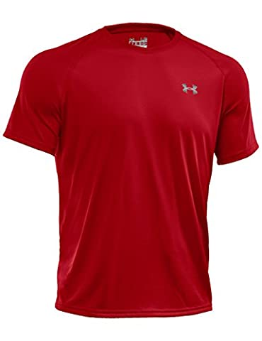 Under Armour Men's Short Sleeve Multi Sports T-Shirt T-shirt, Red (Rot), Small