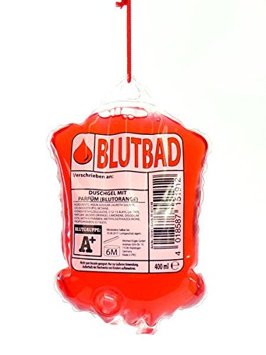 Bagnoschiuma come confezione sangue conserviera, catetere 400 ml - Volta Un' altra