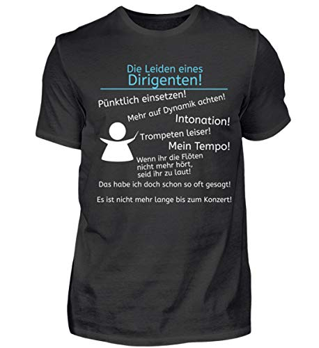 Die Leiden Eines Orchester Dirigenten - Herren Shirt