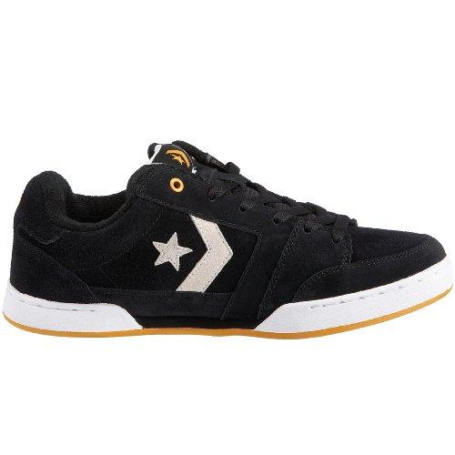 Converse Grimes, Herren Fashion Sneaker Schwarz (Black/Golden Glow)