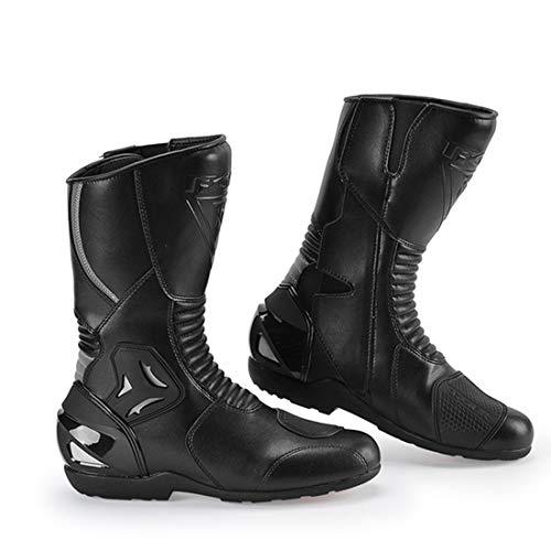 LLC-CLAYMORE Reiten wasserdicht Men es Street Motorcycle Boots, schwarz,US9/EU43 Mens Street Motorcycle Boots