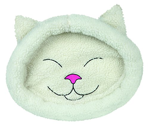 Trixie Mijou Cuddly Bed, 48 x 37 cm, Cream