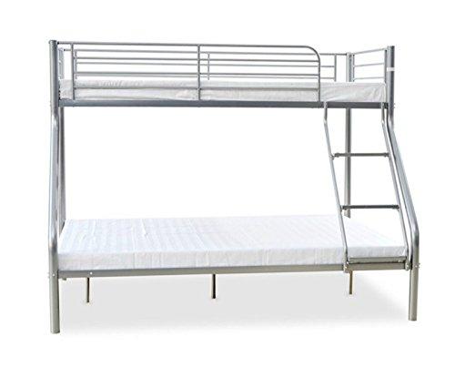 Triple Etagenbett Metall Rahmen Kinder/Kid/Erwachsene/SLEEPER Doppelbett  Boden Und Single Auf Top Silber Schlafzimmer Möbel New Toronto