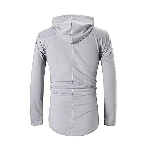 Herren Hoodie,TWBB Pullover Kapuzenpullover Mantel Outwear Lange Ärmel Hemd