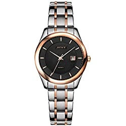 Fashion ladies casual waterproof quartz watches