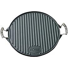 Rösle RS25075, Piastra rotonda per barbecue 40 cm, ghisa